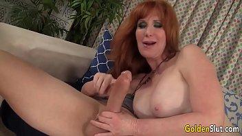 Redheaded grandma Freya Fantasia fucked hard | Video Make Love