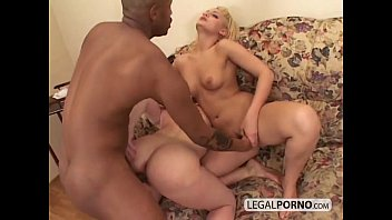 Two hot blondes play in the shower and then get fucked by a black cock sb-2-04