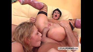 Rough threesome deep anal nl-17-03