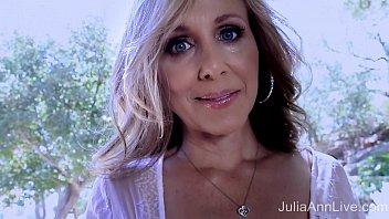 Superstar milf julia ann shows off ..