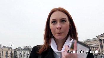 Русская студентка трахается за еду