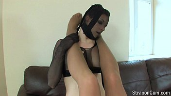 Two beauty lesbian plays with strapon
