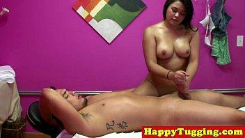 asian massage happy tugging -