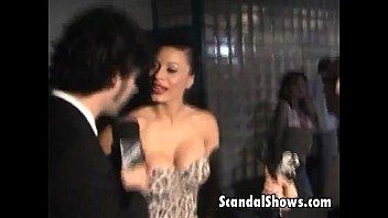 Sexy striper seducing the audience
