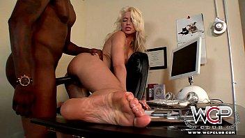 Wcpclub stunning blonde annika albright housewife cuckold with a big black man