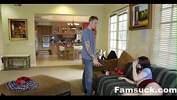 Интим семейный видео домаш