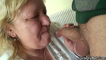 Young dude and huge titted granny games