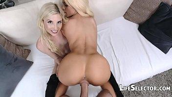 Petite Blondes get fucked hard - Piper Perri, E... | Video Make Love