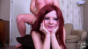 Lady Fyre – Redheaded Stepdaughter Fucks Stepdad