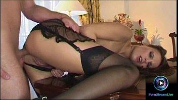 Steamy anal sex and huge cumshot wi..