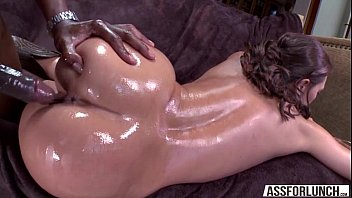 Sexy olivia wilder gets a massive black cock in her pussy doggy style ..