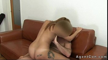 Hot ass brown hair amateur asshole fucked on casting