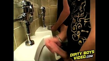 Bokep terbaru When he spotted meat at the urinal James 039s dick stiffened