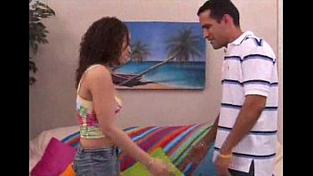 Analia gets her latin pussy pummeled nicely