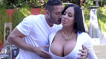 Superb wife (sybil stallone) cheats on camera in hard style action movie-26