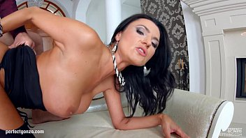 Milfthing stunning brunette milf ania kinski gets drilled pretty good by a big c
