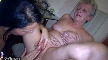 OldNanny Sexy young Girl and skinny old mature ... | Video Make Love
