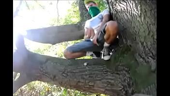 Gay teen boy wanked in woods 3 min