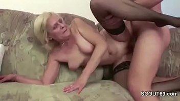 Fuck old granny