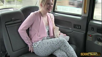 Paige goes cowgirl sex position in the cab with...