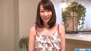 Video bokep SEri toy insertion scenes for hairy Hitomi Oki hot di Bokepjepang123.info