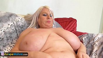 Europemature busty granny lacey has wet cunt 5
