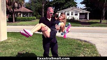ExxxtraSmall - Tiny Skater Teen Gets Hairy Puss...   Video Make Love