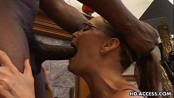 Horny Cheyenne Hunter sucking black dick | Video Make Love
