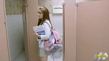 Who is she? cheerleader 3p toilet 2