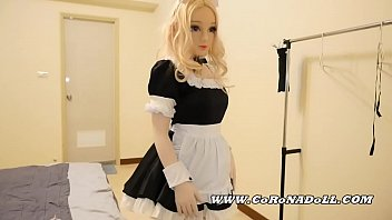 office to Kigurumi Maid Self-femdom