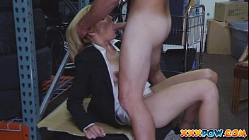 Poor milf messed up with sperm to make some cash