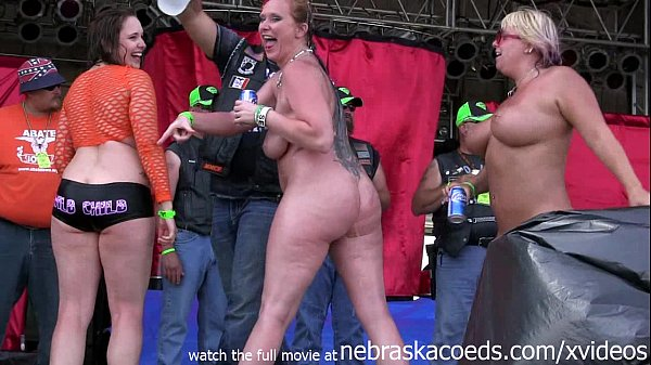hottest milf contest at the abate of iowa bi...