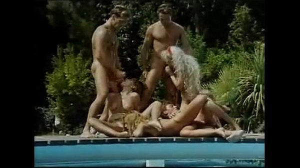 A Group Of Horny Ladies Get Fucked Beside A ...