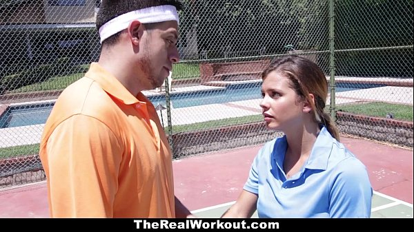 Therealworkout keisha grey pounded after playing tennis 4