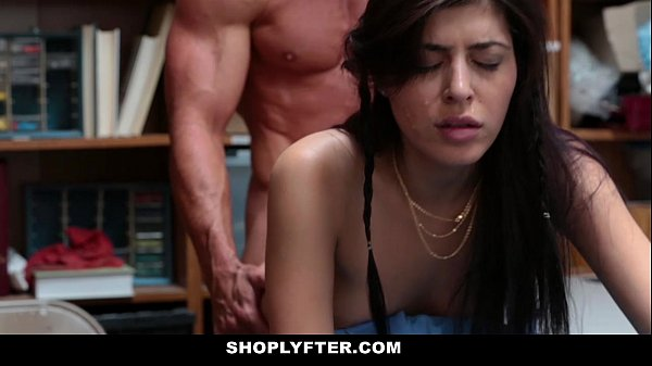 Shoplyfter hipster shoplyfter caught between two cocks - 3 part 9