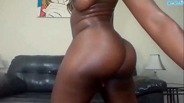 Nyna Stax ebony masturbation