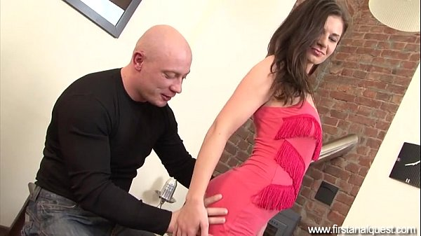 FirstAnalQuest.com - ANAL LOVE WITH A PRETTY...