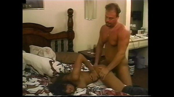 hot ebony latina gets anal bedside fuck...