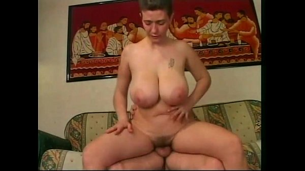 Mature amateur woman with big boobs having s...