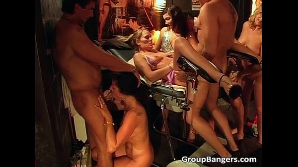 Crazy and wild sex group action...