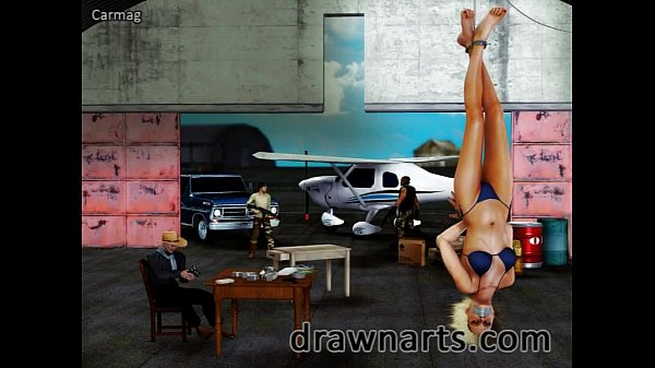 Carmag specializes in 3d damsels in distress in his bdsm artwork and it's cool