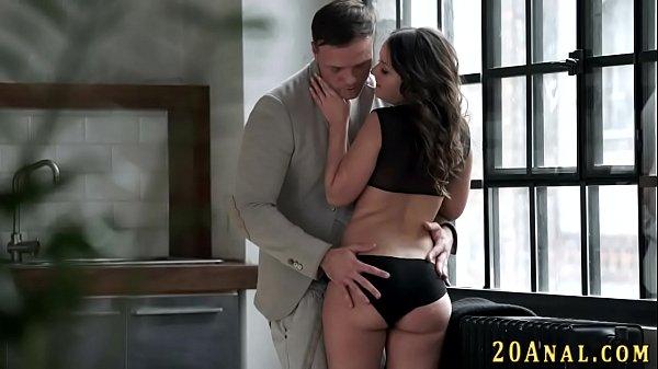 European babe ass fucked
