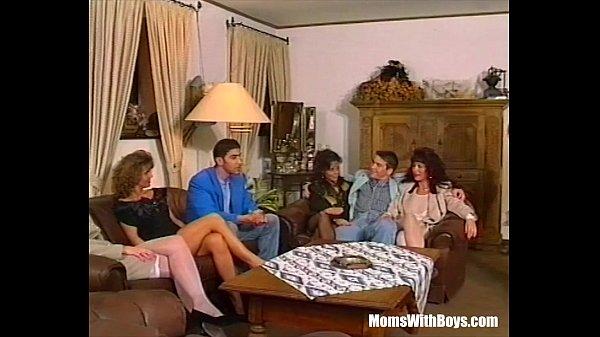 Group Anal Sex Involving Three Big Tit MILFs...