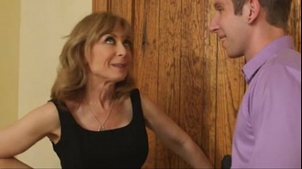 nina hartley on a date with young boy...