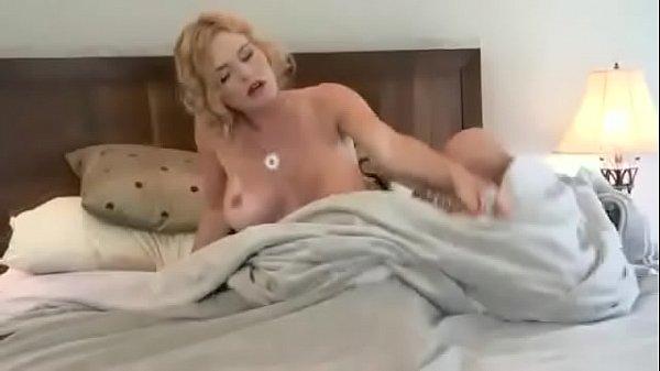 Busty Cougar Brooke Fucks & Sucks Her Studded Vibrator