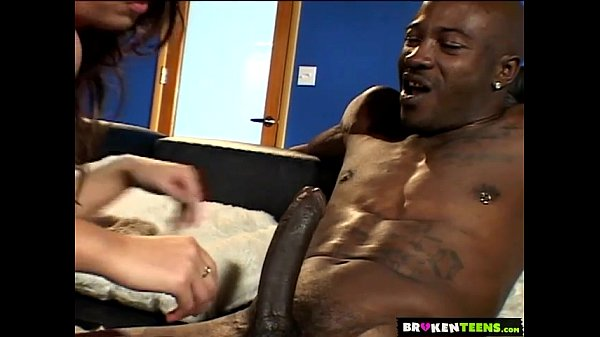 11 Min Horny Teen Enjoys A Big Black Cock BrokenTeens.com