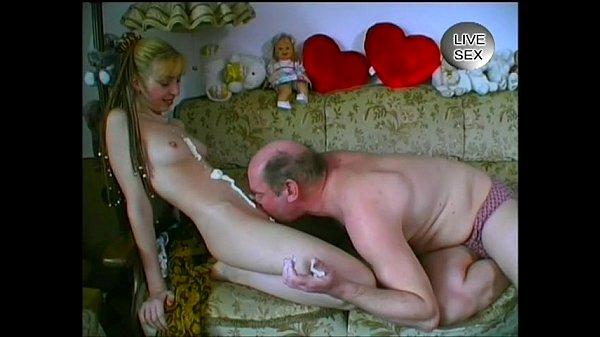 VERY CUTE German Teen Stripping & Having...