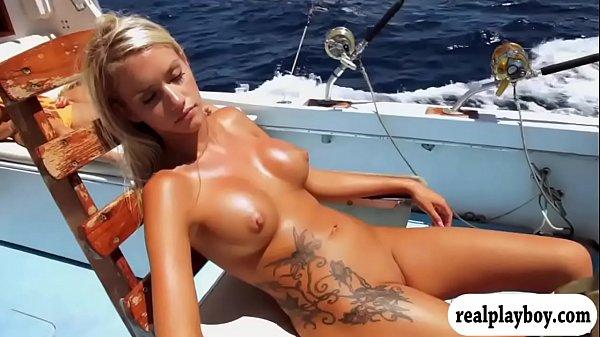 Florida teacher and bikini fishing boat
