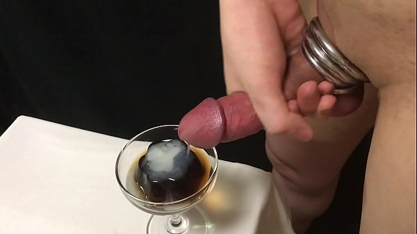 ぶっかけコーヒーゼリー