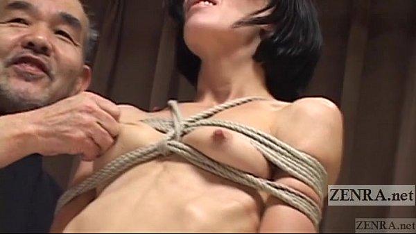 ガリガリの欧米人の熟女に和風の緊縛を施し、鼻フックで龍驤プレイをする。素人|イクイクXVIDEOS日本人無料エロ動画まとめ